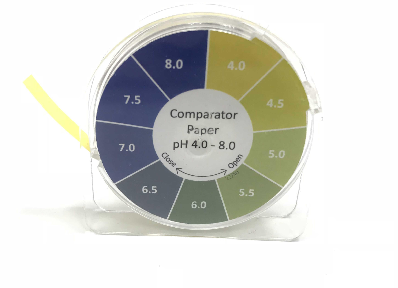Comparator Paper pH 4.0 - 8.0