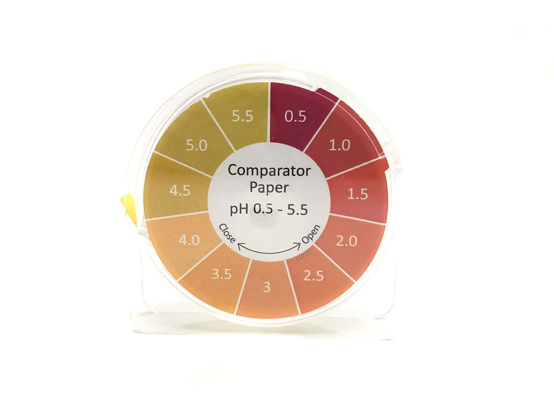 Comparator Paper pH 0.5 - 5.5