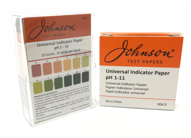 Universal Indicator Paper pH 1 - 11